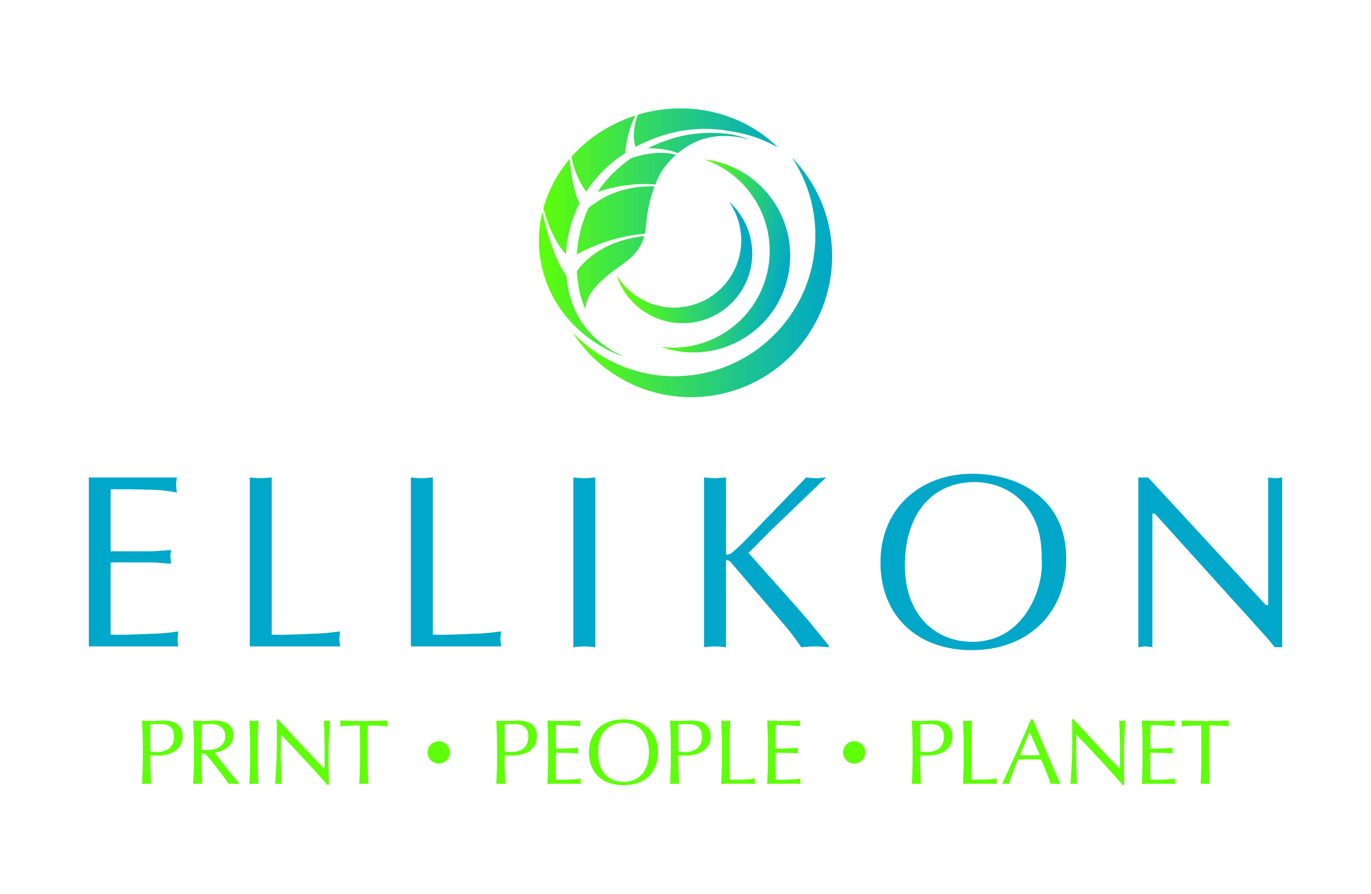 Ellikon PRINT PEOPLE PLANET Logo CMYK