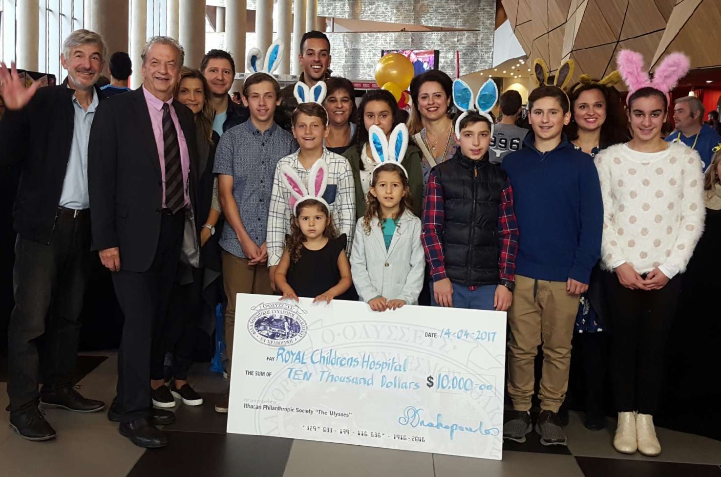 IPS donates $10,000 to the Royal Children's Hospital Good Friday Appeal